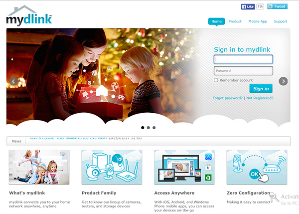 DLink Registration