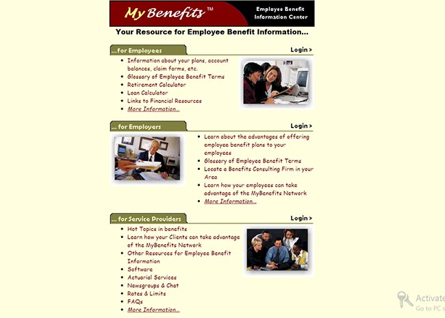 mybenefits home
